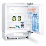 Keukenblok wit hoogglans 180 cm incl inbouw koelkast RAI-509_