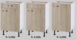 Keukenblok 150 Karat Klassiek incl koelkast en kookplaat RAI-913_