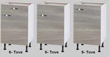 Keukenblok 140 Karat incl kookplaat en wandkasten RAI-925_