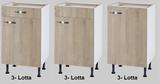 Keukenblok 140 Karat incl kookplaat en wandkasten RAI-926_