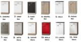 Keukenblok 200 cm Antraciet incl kookplaat, afzuigkap, vaatwasser, koelkast en magnetron RAI-189_