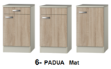 keukenblok 150cm met glazen koelkast RAI-4442_