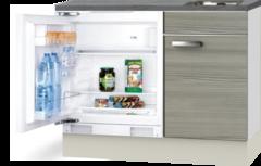 Kitchenette 100cm Vigo incl mini inbouw koelkast RAI-2252