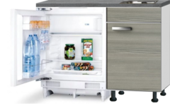 Kitchenette 120cm Vigo incl inbouw koelkast RAI-2253