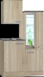 Keukenblok Padua 120cm incl. koelkast HRG-1389