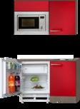 Kitchenette 110cm met magnetron koelkast en kookplaat OPTI-051