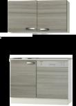 Kitchenette 120cm Vigo incl al inbouw vaatwasser RAI-2324