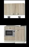 Kitchenette 100cm met onderbouw magnetron OPTI-110