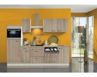 Kitchenette 270 cm imitatie licht eiken incl apparatuur RAI-993