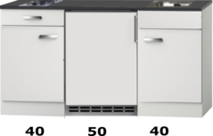Kitchenette 130 CM incl koelkast RAI-2253