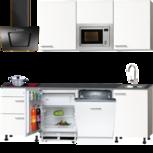 Complete rechte keuken Torge 240cm incl inbouw apparatuur RAI-8800