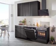 Rechte keuken 210cm met inbouw apparatuur RAI-9500