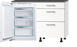 Keukenblok 120cm met inbouw koelkast zonder spoelbal RAI-9923