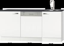 keukenblok 180cm met inbouw vaatwasser RAI-0987