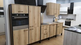 Showmodel keuken 120cm + 193cm incl inbouw apparaten
