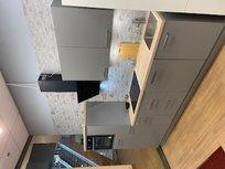 Rechte showroom keuken 290cm breed incl inbouw apparatuur en reeds gemonteerd