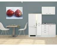 Kitchenette Wit 190cm HRG-6699