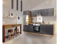 Keuken Mat Grijs 270cm HUS-1798