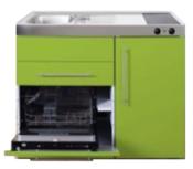 MPGS 120 Groen met vaatwasser en koelkast RAI-9594