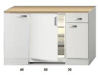 Kitchenette 120 CM incl koelkast RAI-2252