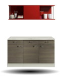 Kitchenette/Buffetkast Vigo 150cm   KT151-9-210