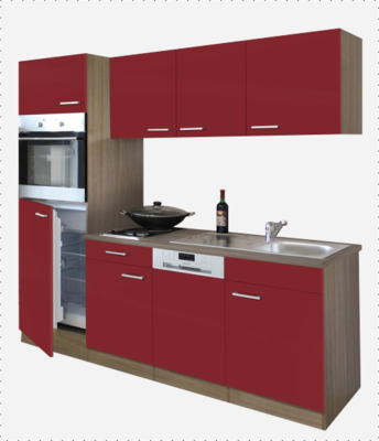 kitchenette 210cm incl app RAI-4300