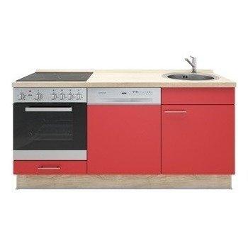 Keukenblok Rood 180cm RAI-1099