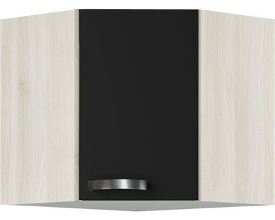 Hoek wandkast Faro Antraciet (BxHxD) 60,0x57,6x34,6 cm OED606-9-85