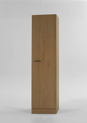 Hoge kast Klassiek 60 Beuken met planken (BxH) 50cm x 206,8 H500-6-OPTI-57
