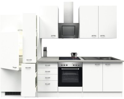Keuken Wit 300cm HRG-51249