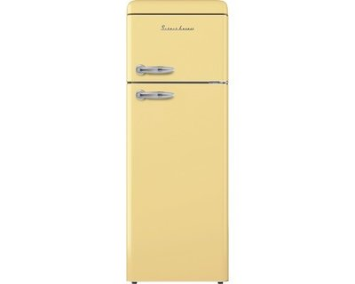 Koelkast met vriesvak EEK A ++ Schaub Lorenz SL210SC creme gloss HRG-445