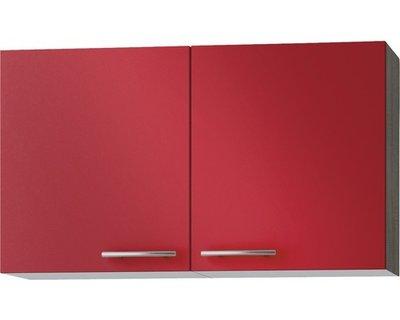 Wandkast Imola signaal rood (BxHxD) 100,0x57,6x34,6 cm OPTI-52