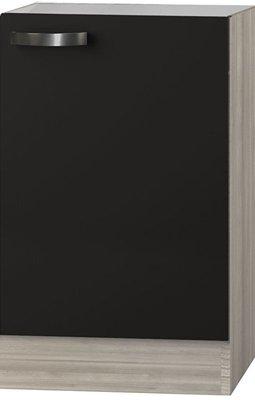 Spoelbak onderkast Faro Antraciet (BxHxD) 50 x 84,8 x 60 cm SPLO506-9-65