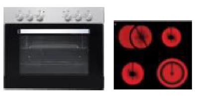 Oven kookplaat combinatie KIT-232