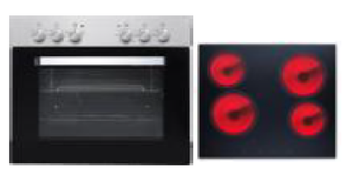 Oven kookplaat combinatie KIT-222