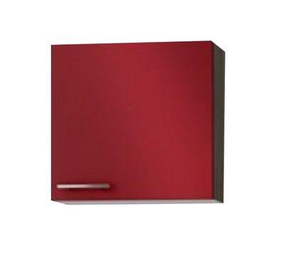 Wandkast Imola signaal rood  (BxHxD) 50 x 57,6 x 34,6 cm OPTI-529