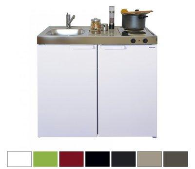 MK 100 Wit met koelkast  RAI-9525