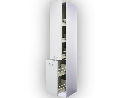 Apothekerskast klassiek wit met 5 laden 211 cm hoog  RAI-5180