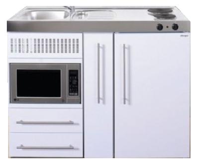 MPM 120 A Wit met koelkast, apothekerskast en magnetron RAI-9541