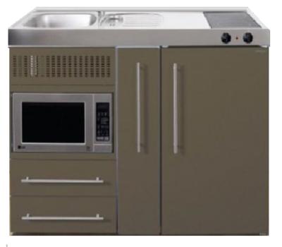 MPM 120 A Bruin met koelkast, apothekerskast en magnetron RAI-9542