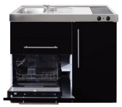 MPGS 120 Zwart metalic met vaatwasser en koelkast RAI-9597