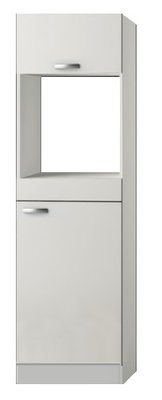 Hogekast inbouw oven Lagos White Glans (BxHxD) 60 x 206,8 x 57,1 cm HOMK660-9