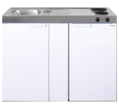 MK 120B Wit met koelkast  RAI-9537