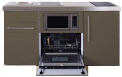 MPGSM 160 Bruin met koelkast, vaatwasser en magnetron  RAI-985
