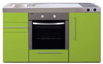 MPB 150 Groen met koelkast en oven RAI-935