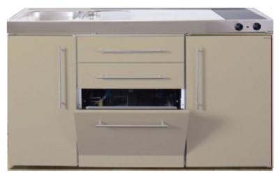 MPGS 150 Zand met vaatwasser en koelkast RAI-9546