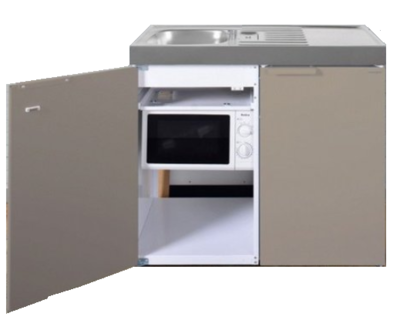 MKM 100 Zand met koelkast en losse magnetron RAI-9574