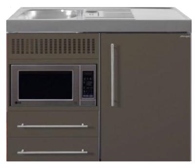 MPM 100 Bruin met koelkast en magnetron RAI-9512