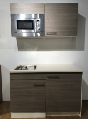 Kitchenette 120cm incl apparatuur RAI-7985