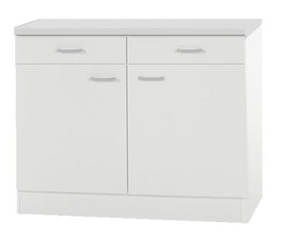 Onderkast wit (bxhxd) 100x85x50 cm RAI-55